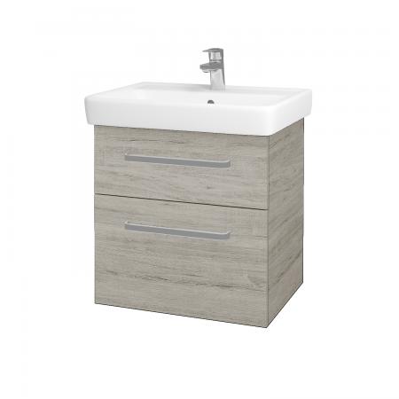 Dreja - Kúpeľňová skriňa Q MAX SZZ2 60 - D05 Oregon / Úchytka T01 / D05 Oregon (61312A)