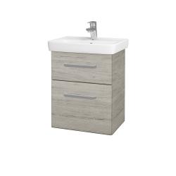 Dreja - Kúpeľňová skriňa GO SZZ2 50 - D05 Oregon / Úchytka T01 / D05 Oregon (28124A)