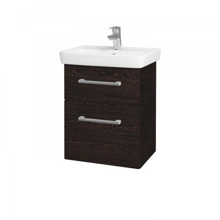 Dreja - Kúpeľňová skriňa GO SZZ2 50 - D08 Wenge / Úchytka T03 / D08 Wenge (28186C)