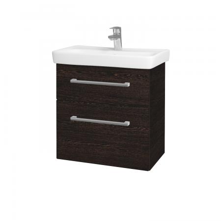 Dreja - Kúpeľňová skriňa GO SZZ2 60 - D08 Wenge / Úchytka T03 / D08 Wenge (28209C)