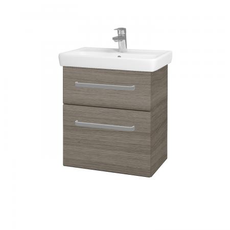 Dreja - Kúpeľňová skriňa GO SZZ2 55 - D03 Cafe / Úchytka T01 / D03 Cafe (28070A)