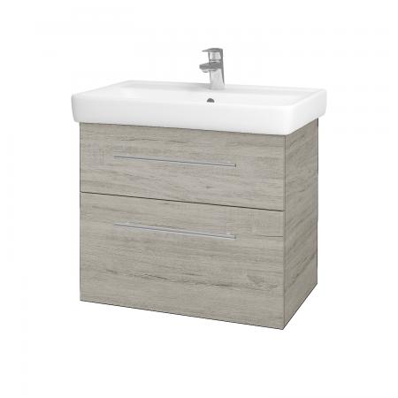 Dreja - Kúpeľňová skriňa Q MAX SZZ2 70 - D05 Oregon / Úchytka T02 / D05 Oregon (61329B)