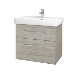 Dreja - Kúpeľňová skriňa Q MAX SZZ2 70 - D05 Oregon / Úchytka T03 / D05 Oregon (61329C)