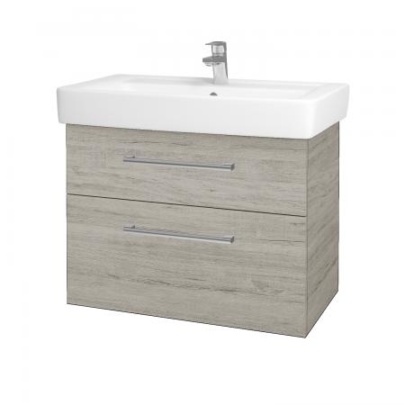 Dreja - Kúpeľňová skriňa Q MAX SZZ2 80 - D05 Oregon / Úchytka T03 / D05 Oregon (61336C)