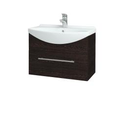 Dreja - Kúpeľňová skriňa TAKE IT SZZ 65 - D08 Wenge / Úchytka T02 / D08 Wenge (133740B)