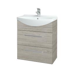 Dreja - Kúpeľňová skriňa TAKE IT SZZ2 65 - D05 Oregon / Úchytka T01 / D05 Oregon (133788A)