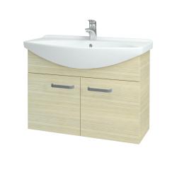 Dreja - Kúpeľňová skriňa TAKE IT SZD2 85 - D04 Dub / Úchytka T01 / D04 Dub (133405A)