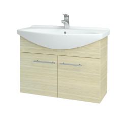 Dreja - Kúpeľňová skriňa TAKE IT SZD2 85 - D04 Dub / Úchytka T02 / D04 Dub (133405B)