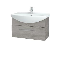 Dreja - Kúpeľňová skriňa TAKE IT SZZ 75 - D01 Beton / Úchytka T03 / D01 Beton (133825C)