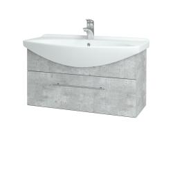 Dreja - Kúpeľňová skriňa TAKE IT SZZ 85 - D01 Beton / Úchytka T02 / D01 Beton (133962B)