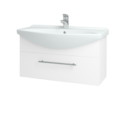 Dreja - Kúpeľňová skriňa TAKE IT SZZ 85 - N01 Bílá lesk / Úchytka T02 / N01 Bílá lesk (134402B)