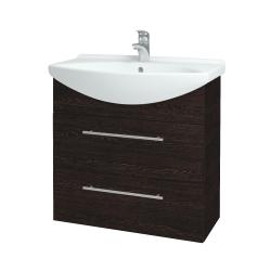 Dreja - Kúpeľňová skriňa TAKE IT SZZ2 75 - D08 Wenge / Úchytka T02 / D08 Wenge (133955B)