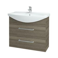 Dreja - Kúpeľňová skriňa TAKE IT SZZ2 85 - D03 Cafe / Úchytka T03 / D03 Cafe (134051C)
