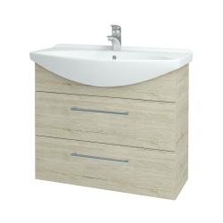 Dreja - Kúpeľňová skriňa TAKE IT SZZ2 85 - D05 Oregon / Úchytka T03 / D05 Oregon (134075C)