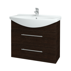 Dreja - Kúpeľňová skriňa TAKE IT SZZ2 85 - D08 Wenge / Úchytka T02 / D08 Wenge (134099B)