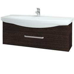 Dreja - Kúpeľňová skriňa TAKE IT SZZ 120 - D08 Wenge / Úchytka T01 / D08 Wenge (134303A)
