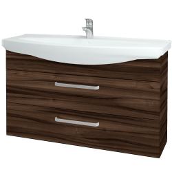 Dreja - Kúpeľňová skriňa TAKE IT SZZ2 120 - D06 Ořech / Úchytka T01 / D06 Ořech (134365A)