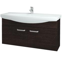 Dreja - Kúpeľňová skriňa TAKE IT SZD2 120 - D08 Wenge / Úchytka T01 / D08 Wenge (133573A)