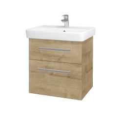 Dreja - Kúpeľňová skriňa Q MAX SZZ2 60 - D09 Arlington / Úchytka T01 / D09 Arlington (115098A)
