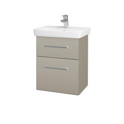 Dreja - Kúpeľňová skriňa GO SZZ2 50 - L04 Béžová vysoký lesk / Úchytka T03 / L04 Béžová vysoký lesk (148263C)