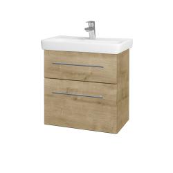 Dreja - Kúpeľňová skriňa GO SZZ2 60 - D09 Arlington / Úchytka T02 / D09 Arlington (148591B)