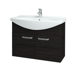 Dreja - Kúpeľňová skriňa TAKE IT SZD2 85 - D14 Basalt / Úchytka T01 / D14 Basalt (151188A)