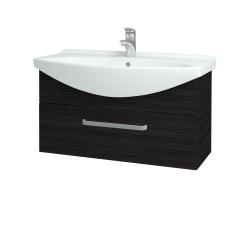 Dreja - Kúpeľňová skriňa TAKE IT SZZ 85 - D14 Basalt / Úchytka T01 / D14 Basalt (151287A)