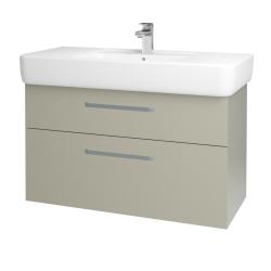 Dreja - Kúpeľňová skriňa Q MAX SZZ2 100 - M05 Béžová mat / Úchytka T01 / M05 Béžová mat (198787A)