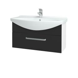Dreja - Kúpeľňová skriňa TAKE IT SZZ 85 - N01 Bílá lesk / Úchytka T01 / N03 Graphite (207045A)