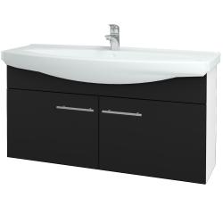 Dreja - Kúpeľňová skriňa TAKE IT SZD2 120 - N01 Bílá lesk / Úchytka T02 / N08 Cosmo (206598B)