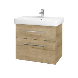 Dreja - Kúpeľňová skriňa Q MAX SZZ2 70 - D09 Arlington / Úchytka T04 / D09 Arlington (115401E)