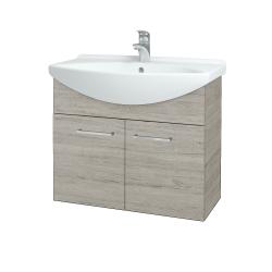 Dreja - Kúpeľňová skriňa TAKE IT SZD2 75 - D05 Oregon / Úchytka T04 / D05 Oregon (133344E)
