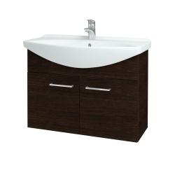 Dreja - Kúpeľňová skriňa TAKE IT SZD2 85 - D08 Wenge / Úchytka T04 / D08 Wenge (133436E)