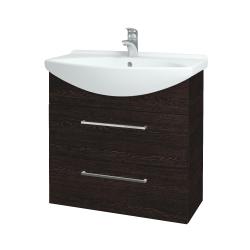 Dreja - Kúpeľňová skriňa TAKE IT SZZ2 75 - D08 Wenge / Úchytka T04 / D08 Wenge (133955E)