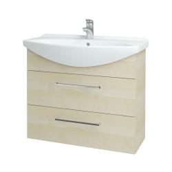 Dreja - Kúpeľňová skriňa TAKE IT SZZ2 85 - D02 Bříza / Úchytka T04 / D02 Bříza (134044E)