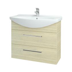 Dreja - Kúpeľňová skriňa TAKE IT SZZ2 85 - D04 Dub / Úchytka T04 / D04 Dub (134068E)