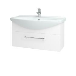 Dreja - Kúpeľňová skriňa TAKE IT SZZ 85 - N01 Bílá lesk / Úchytka T04 / N01 Bílá lesk (134402E)