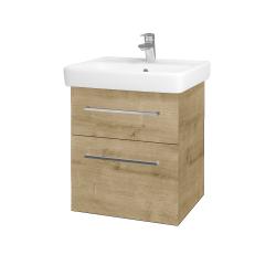 Dreja - Kúpeľňová skriňa Q MAX SZZ2 55 - D09 Arlington / Úchytka T04 / D09 Arlington (149000E)
