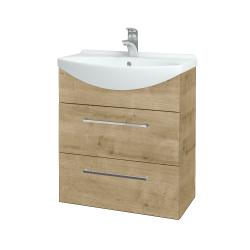 Dreja - Kúpeľňová skriňa TAKE IT SZZ2 65 - D09 Arlington / Úchytka T04 / D09 Arlington (151331E)