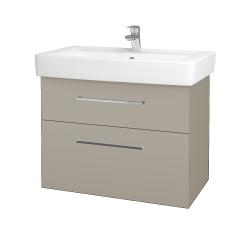 Dreja - Kúpeľňová skriňa Q MAX SZZ2 80 - M05 Béžová mat / Úchytka T04 / M05 Béžová mat (198589E)