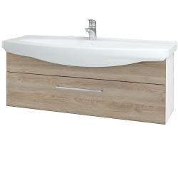 Dreja - Kúpeľňová skriňa TAKE IT SZZ 120 - N01 Bílá lesk / Úchytka T04 / D17 Colorado (207359E)
