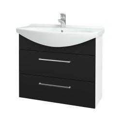 Dreja - Kúpeľňová skriňa TAKE IT SZZ2 85 - N01 Bílá lesk / Úchytka T04 / N08 Cosmo (207878E)