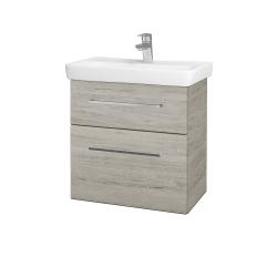Dreja - Kúpeľňová skriňa GO SZZ2 60 - D05 Oregon / Úchytka T04 / D05 Oregon (28148E)