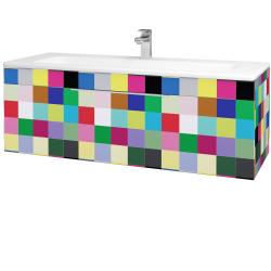 Dreja - Kúpeľňová skriňa ASTON SZZ 120 - IND Individual / Úchytka T05 / IND Individual (109646F)