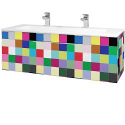 Dreja - Kúpeľňová skriňa ASTON SZZ 120 - IND Individual / Úchytka T05 / IND Individual (109646FU)