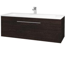 Dreja - Kúpeľňová skriňa ASTON SZZ 120 - D08 Wenge / Úchytka T05 / D08 Wenge (131500F)