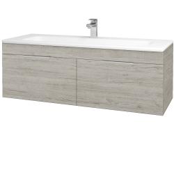 Dreja - Kúpeľňová skriňa ASTON SZZ2 120 - D05 Oregon / Úchytka T05 / D05 Oregon (131555F)