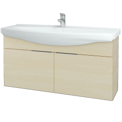Dreja - Kúpeľňová skriňa TAKE IT SZD2 120 - D02 Bříza / Úchytka T05 / D02 Bříza (133528F)