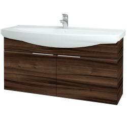Dreja - Kúpeľňová skriňa TAKE IT SZD2 120 - D06 Ořech / Úchytka T05 / D06 Ořech (133566F)
