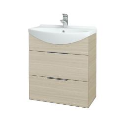 Dreja - Kúpeľňová skriňa TAKE IT SZZ2 65 - D04 Dub / Úchytka T05 / D04 Dub (133801F)